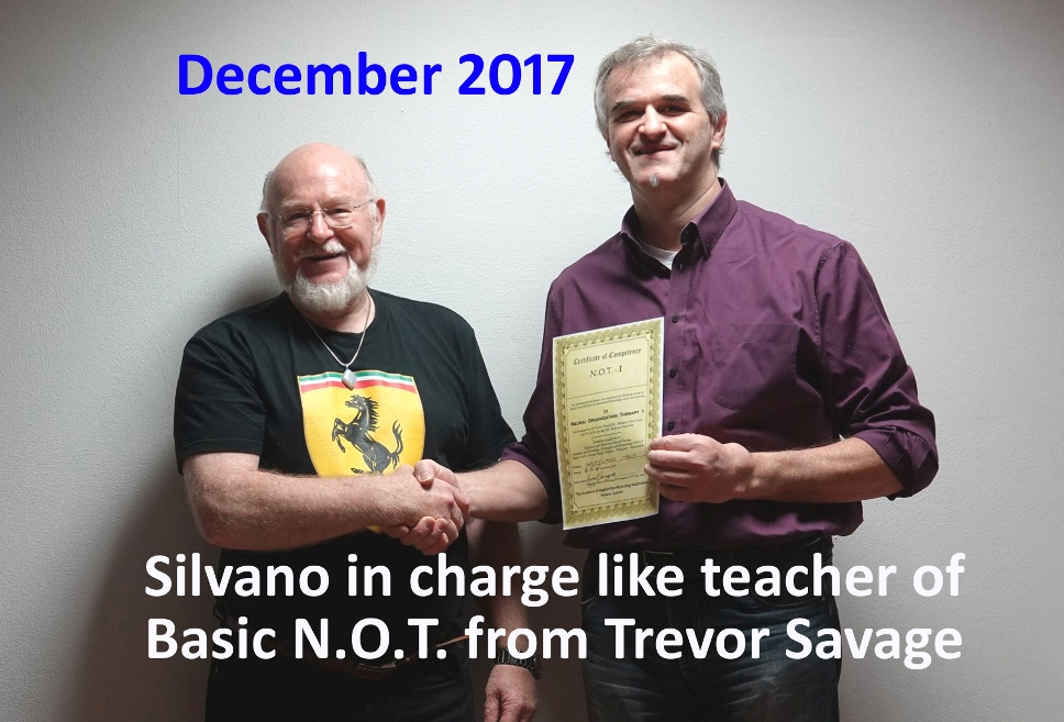 Silvano in Charge like a teacher of Basic NOT from Trevor copia